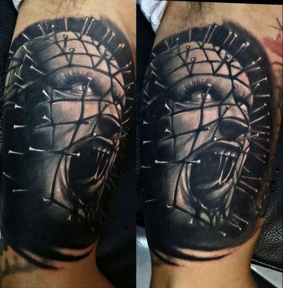 Hellraiser Tattoos For Gentlemen