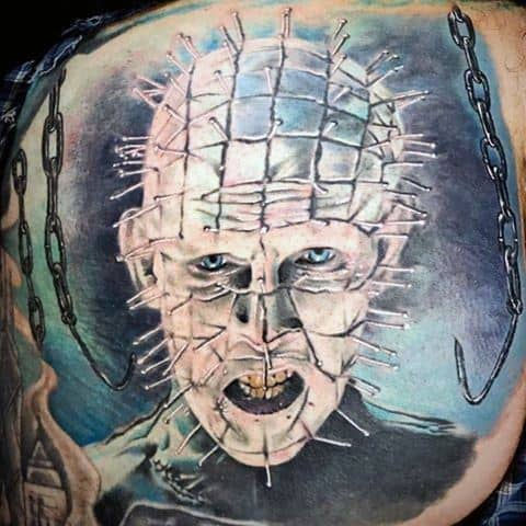 Hellraiser Themed Tattoo Ideas For Men