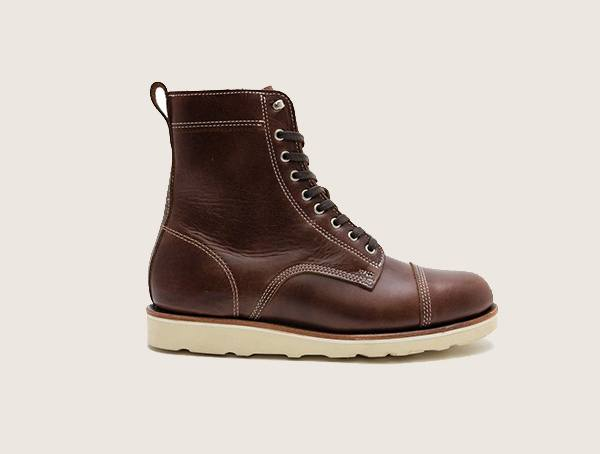 Helm Hunter Brown American Made Work Boots For Men