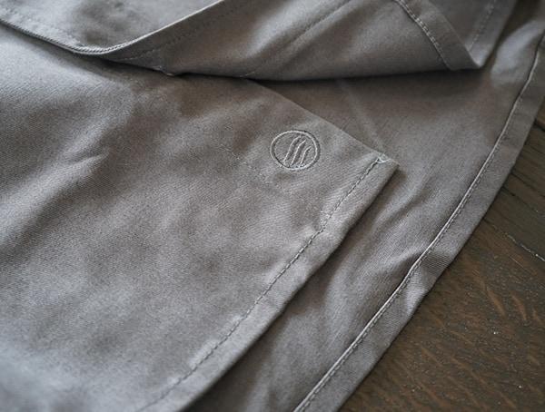 Hem Waist Detail Stiched Logo United By Blue Holt Work Mens Shirt