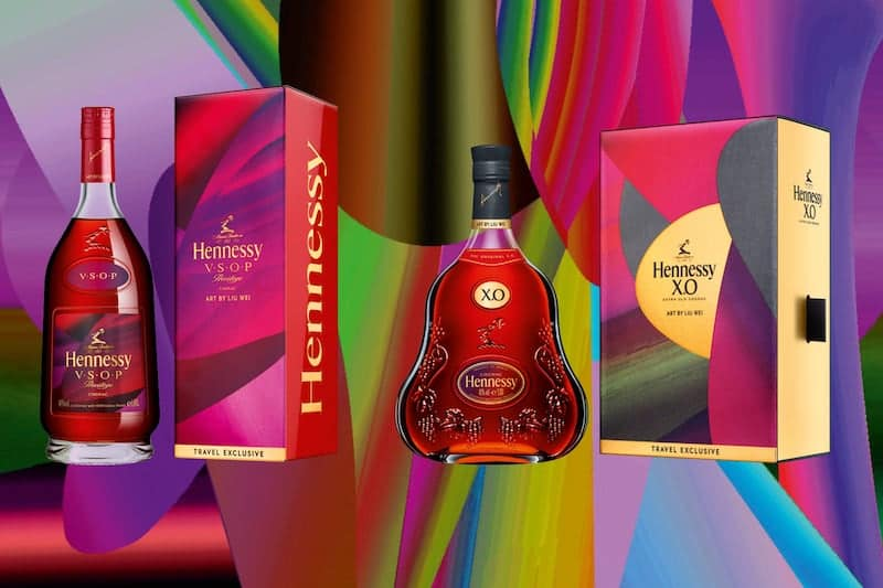 Hennessy Pairs With Artist Liu Wei for Lunar New Year Limited Edition Bottles
