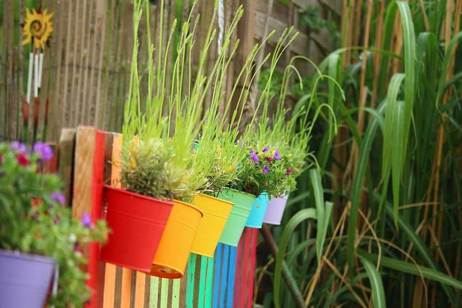 herb and vegetable garden container garden ideas 2