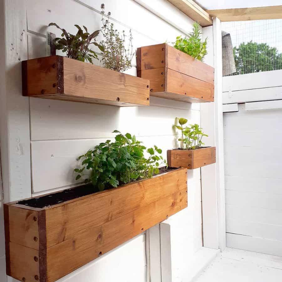 herb garden vertical garden ideas kippenskritters