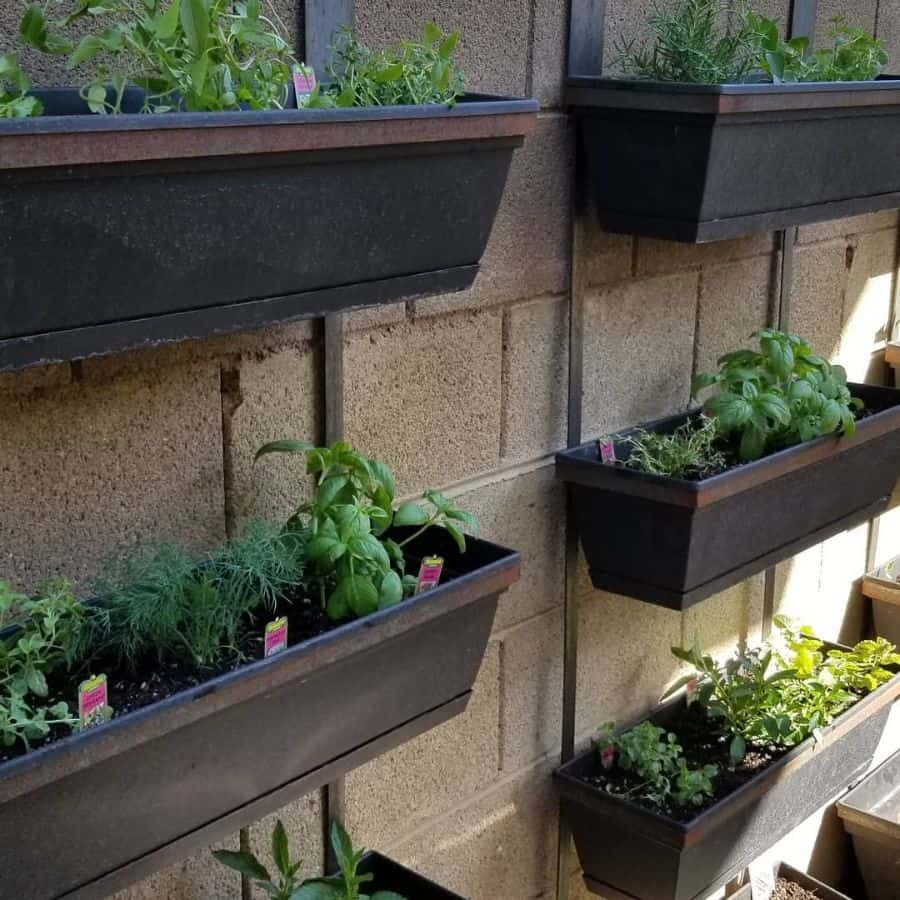 herb garden vertical garden ideas mottfabrication