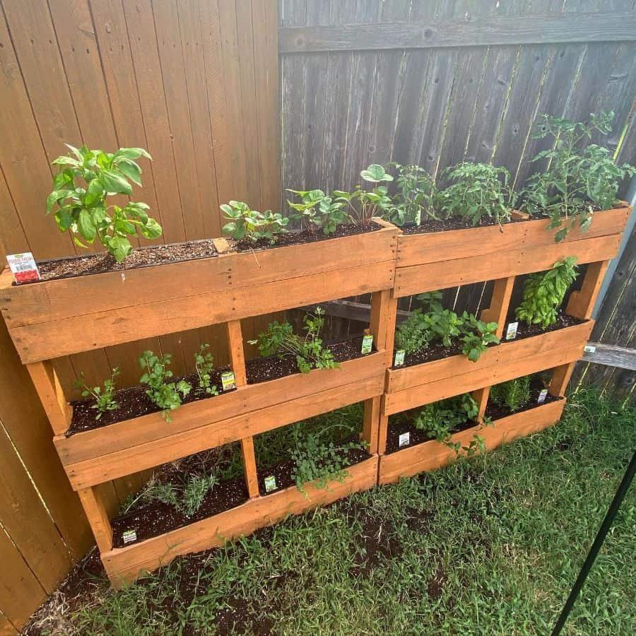 herbs pallet garden ideas joeldestruction