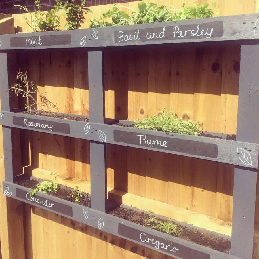 herbs pallet garden ideas no.6.yarm