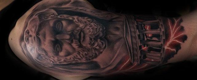 Hercules Tattoo Designs For Men