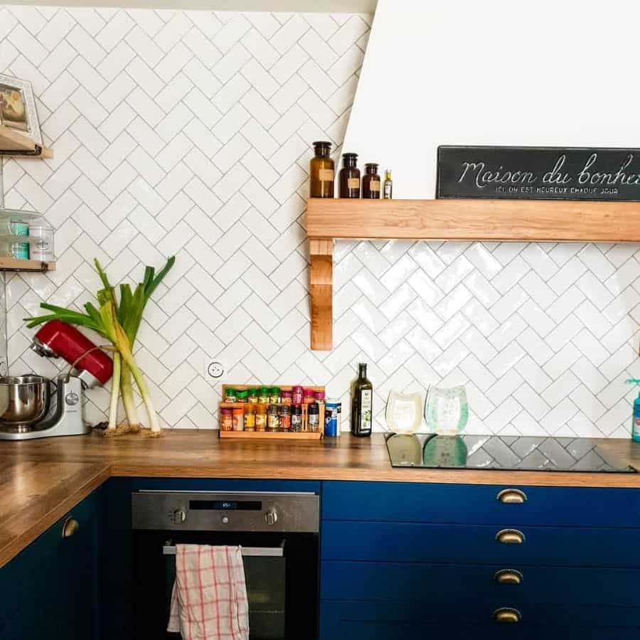 herringbone kitchen tile backsplash ideas lamaisondebourg.farmhousestyle