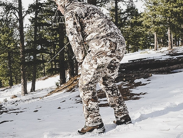 Hid3 Camo Walls Pro Series Xelerator Hunting Pants For Men