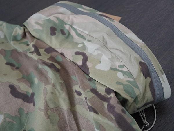 Hidden Hood Under Zipper Mens Otte Gear Patrol Parka In Multicam