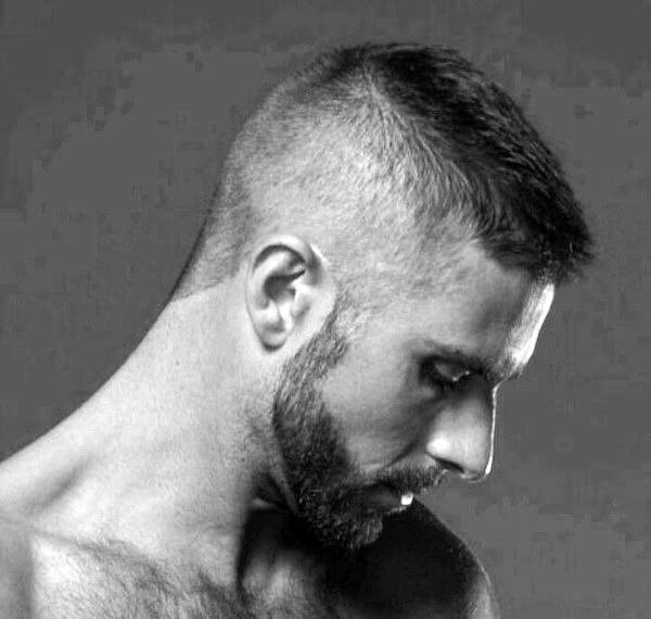 High And Tight Haircut For Men - Masculine Commanding Style