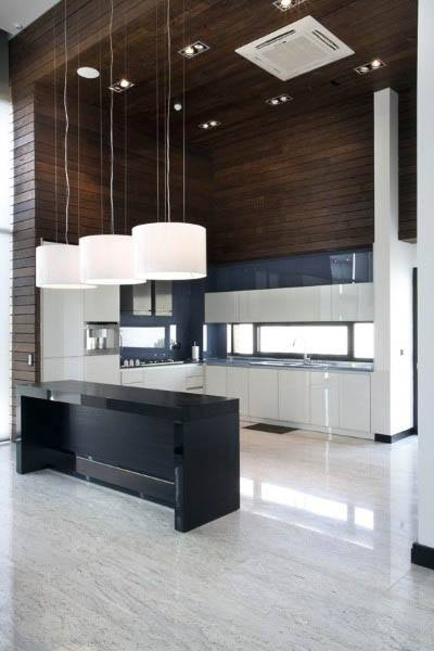 High Ceiling Modern Kitchen Design Ideas