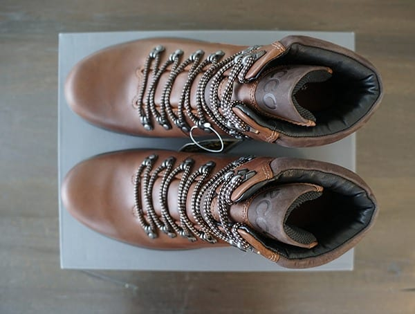 High Cuty Lace Up Boots Ecco Rugged Track Gtx Hi