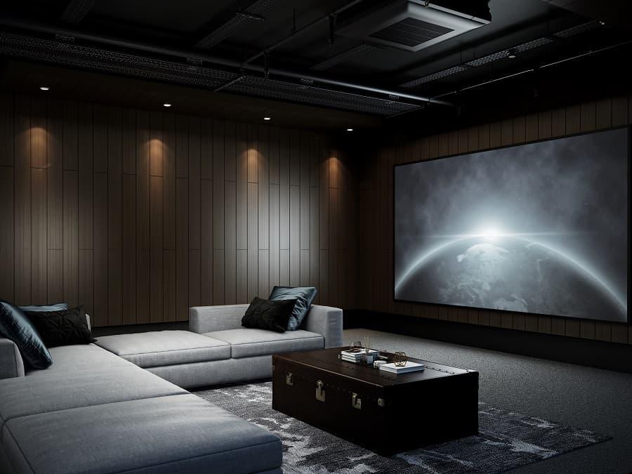 Impressive Purple Home Theater Seats Ideas