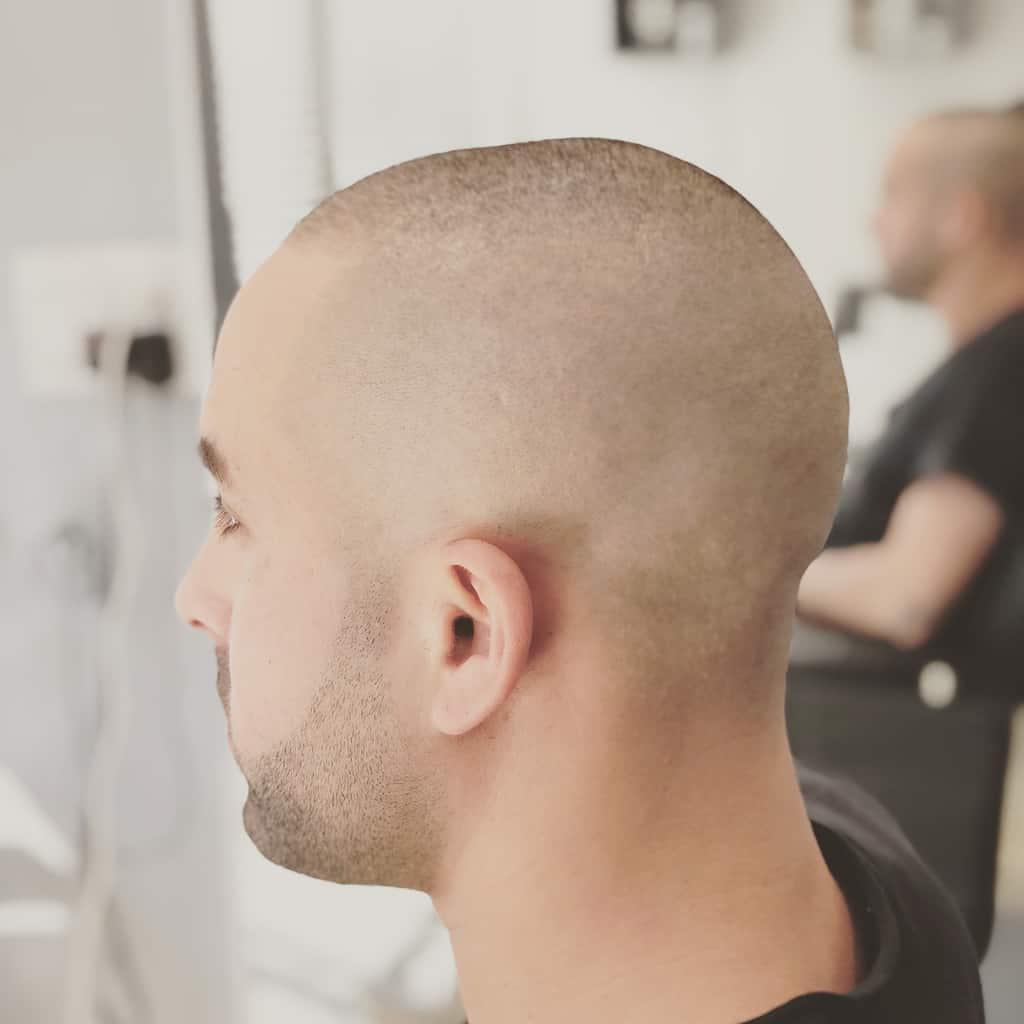 High Fade Cut