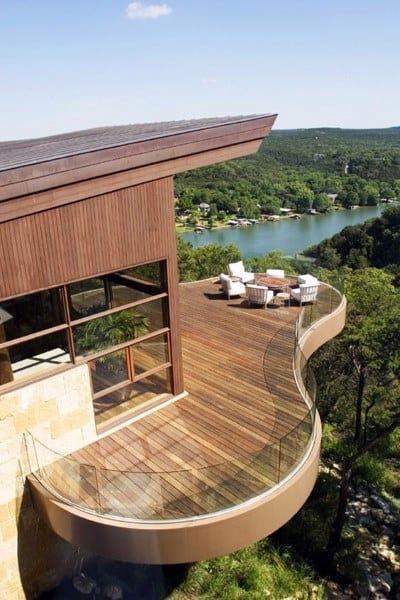 Backyard Low Deck Designs