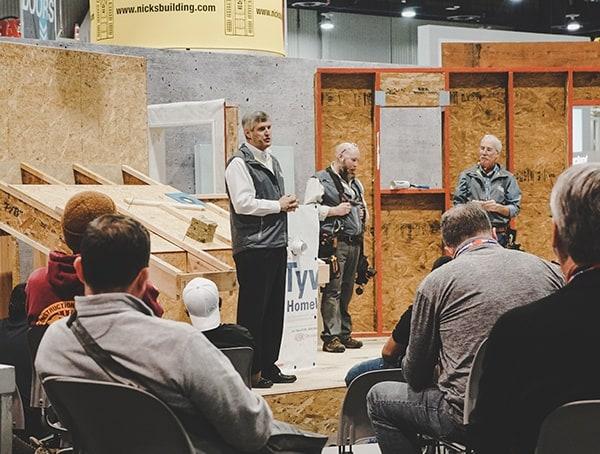 High Performance Building Instruction Speakers 2019 Nahb Show Las Vegas
