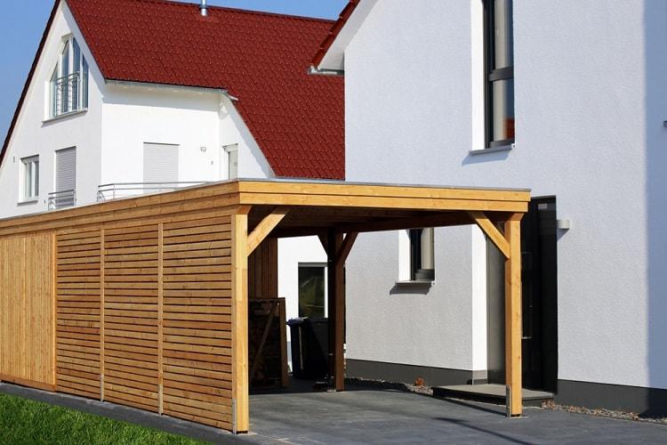 High Quality Wooden Modern Carport
