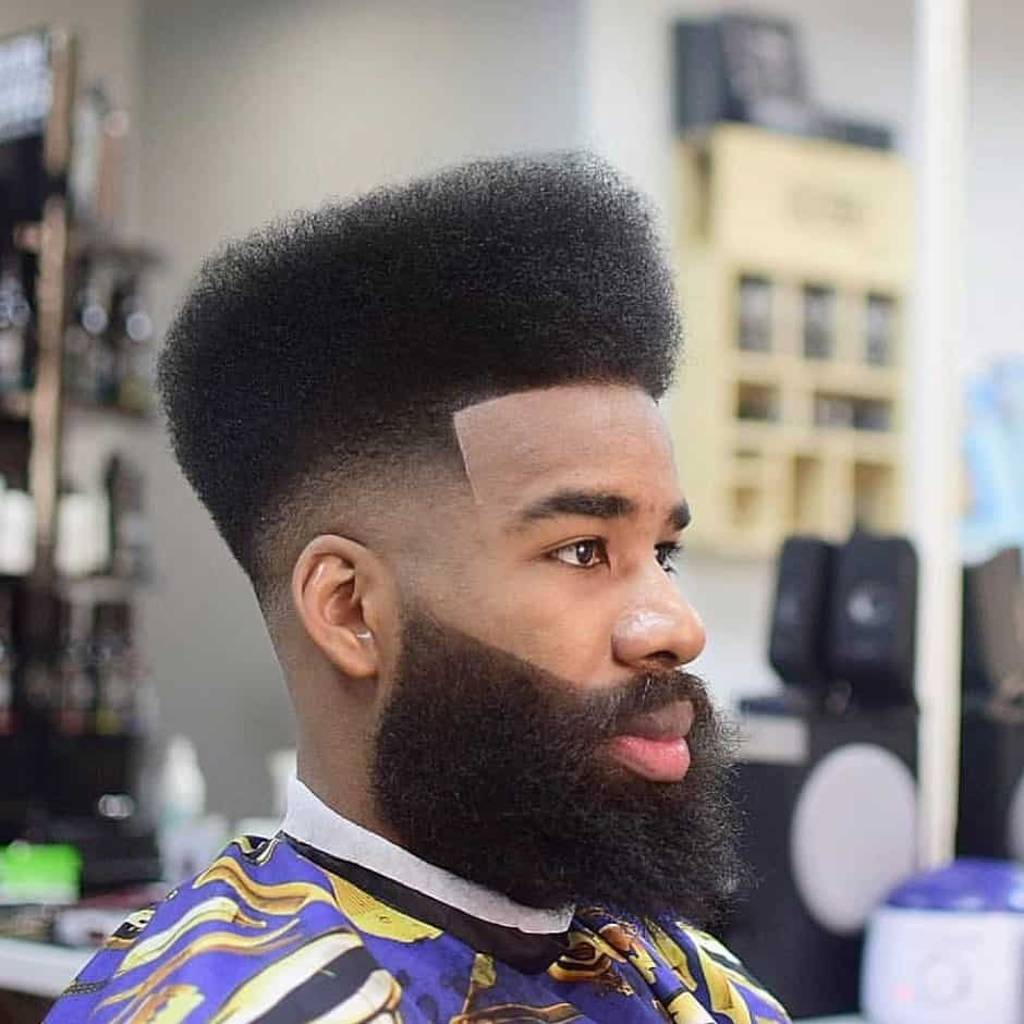 High Top Fade Cut