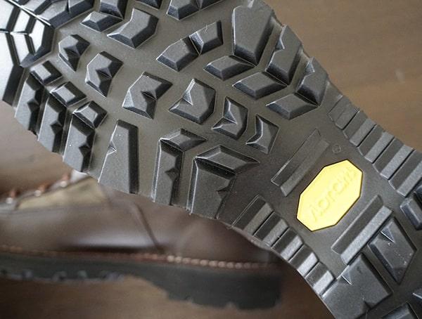 High Traction Vibram 1276 Sierra Outsoles Filson X Danner Grouse Boots For Men