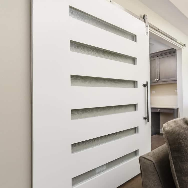 High Wood White Barn Door