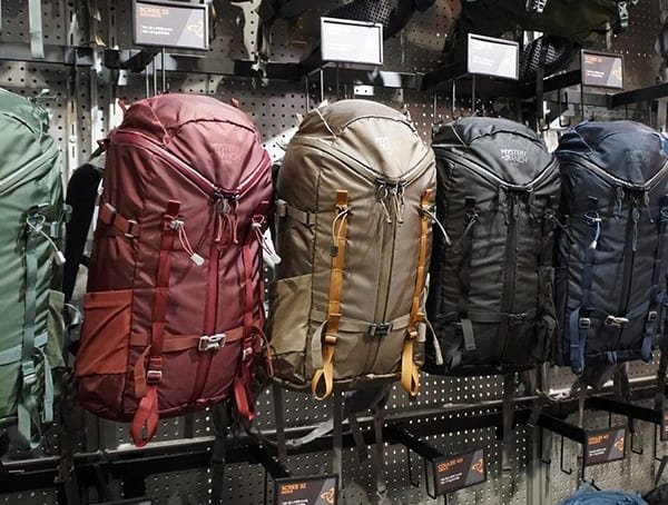 Hiking Backpacks Mystery Ranch Outdoor Retailer Winter Market 2018
