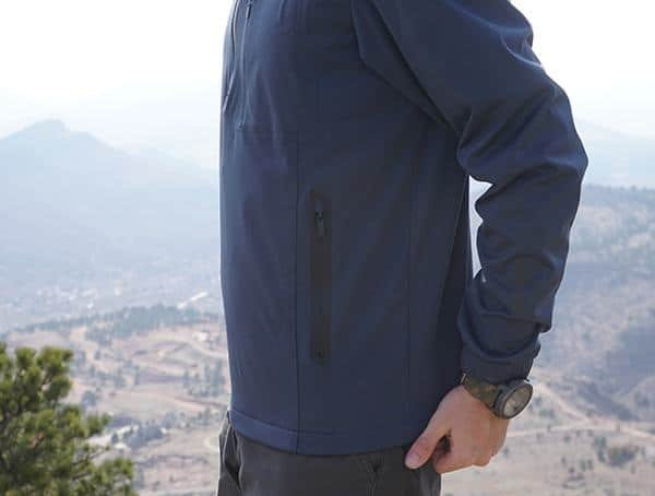 Hiking Clothing Review Ogio All Elements Strech 1 4 Zip Mens Jackets