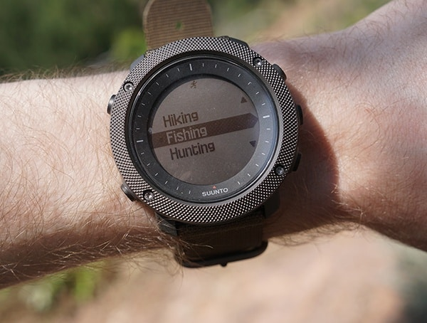 Hiking Fishing Hunting Suunto Traverse Alpha Watch Review