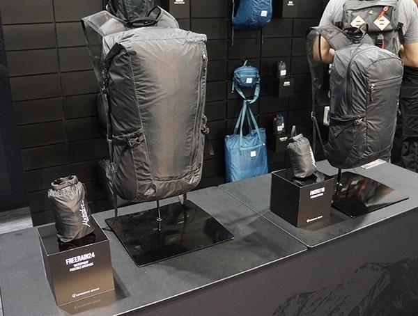 Hiking Pack Display Matador Outdoor Retailer 2018