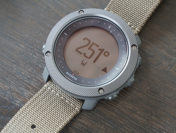 Hiking Suunto Traverse Alpha Compass Dial