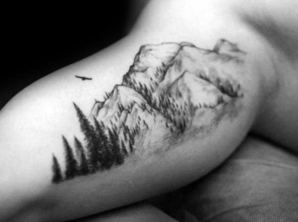 Hiking Tattoo For Guys