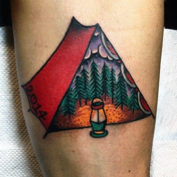 Hiking Tattoo Ideas For Men