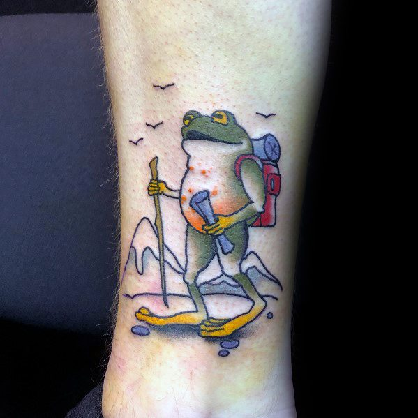 Hiking Themed Tattoo Design Inspiration