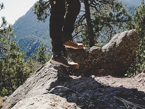 Hiking With The Forsake Trail Boots For Men