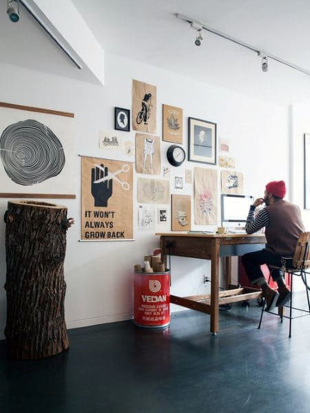 Hipster Small Home Office Ideas