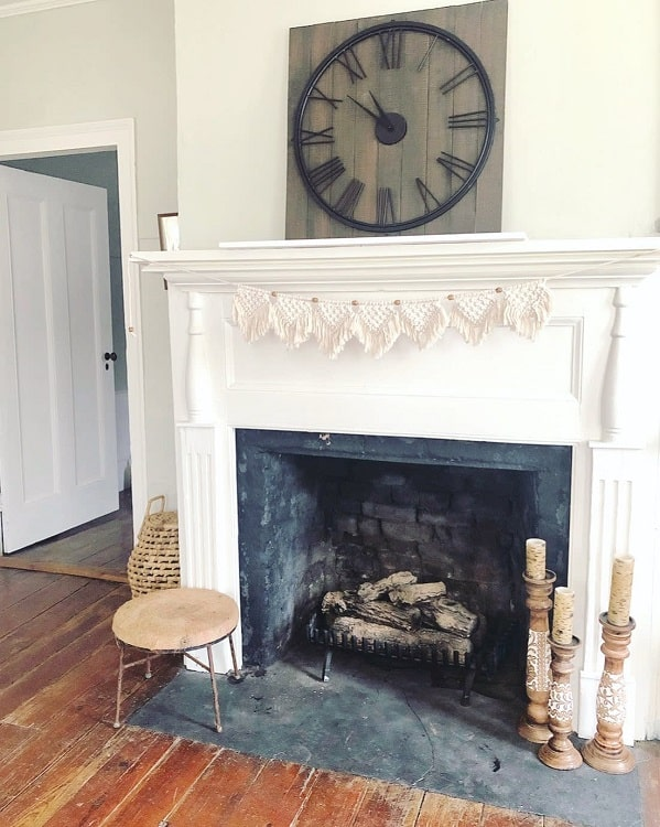 Historic Stone Fireplace Surround Adrirachelle