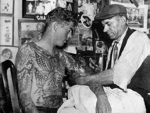 History Of Tattoos Charles Wagner
