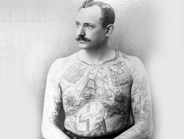 History Of Tattoos Martin Hildebrandt