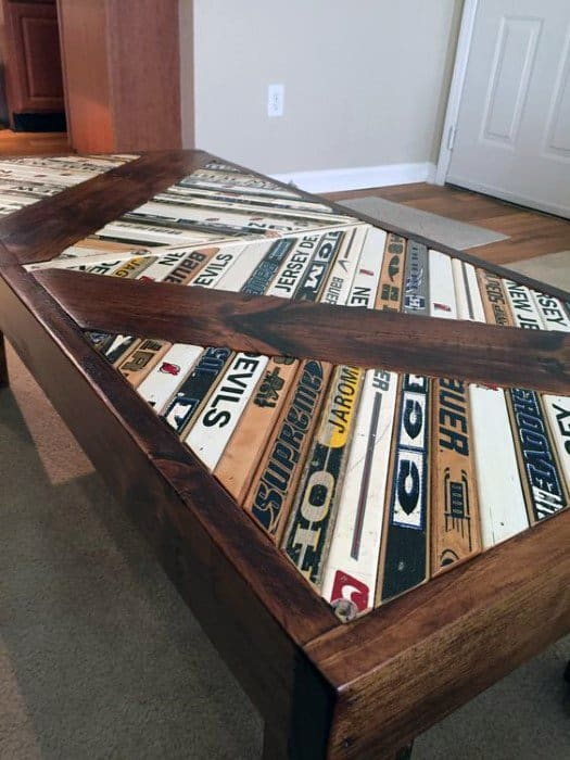 Hocket Stick Coffee Table Cheap Man Cave Ideas