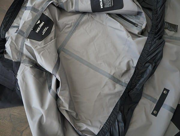 Holden M 51 3 Layer Fishtail Guys Jacket Inner Seam Sealed Construction