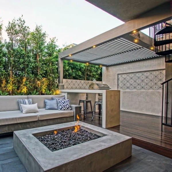 Home Backyard Deck Roof
