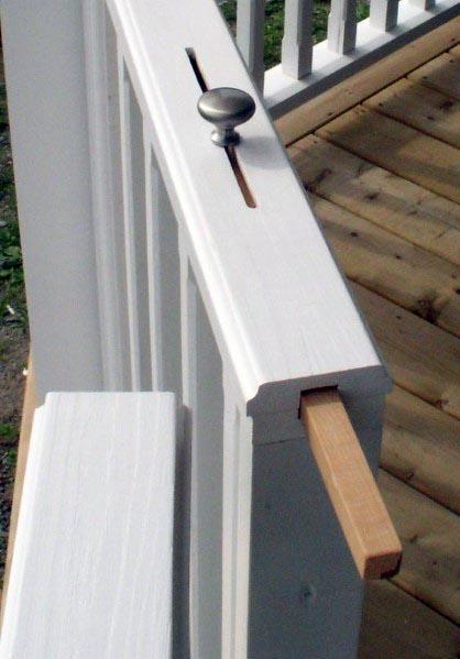 Home Backyard Designs Deck Gate Lock