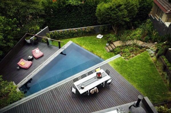 Home Backyard Designs Modern Deck