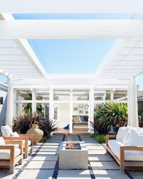 Home Backyard Designs Modern Patio