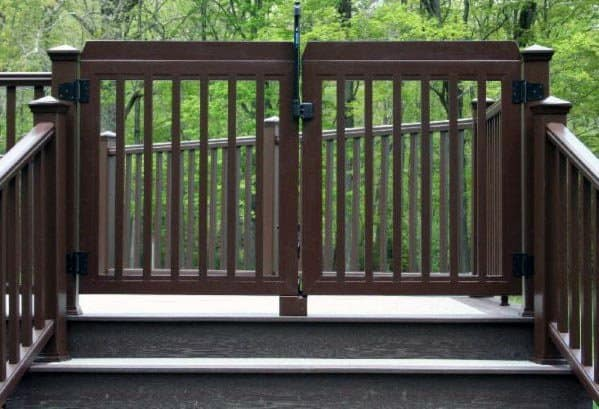 Top 50 Best Deck Gate Ideas Backyard Designs