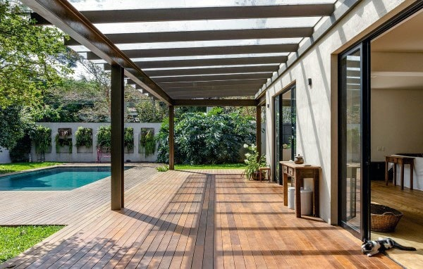 Home Backyard Pergola Ideas