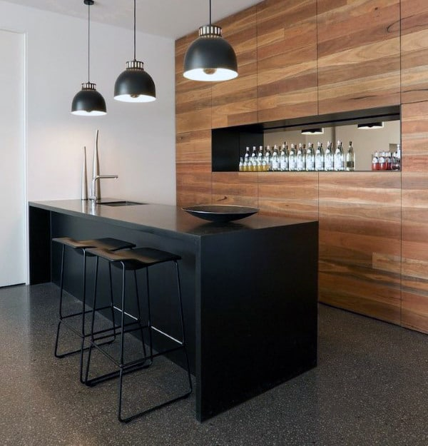 Home Bar Designs For Man Cave