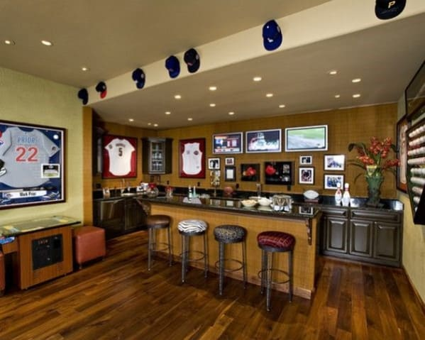Home Bar For Sports