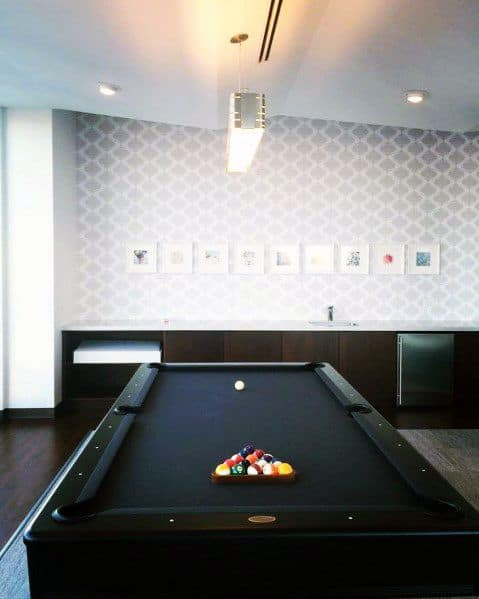 Home Billiards Room Decor Ideas