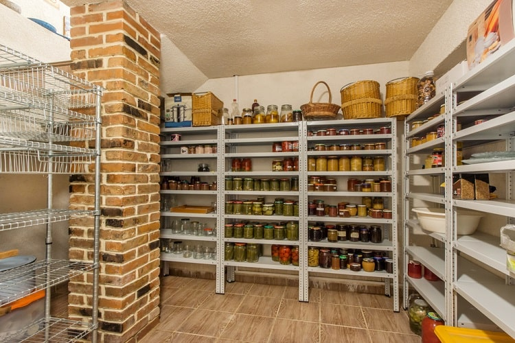 Home Canning Basement Food Storage
